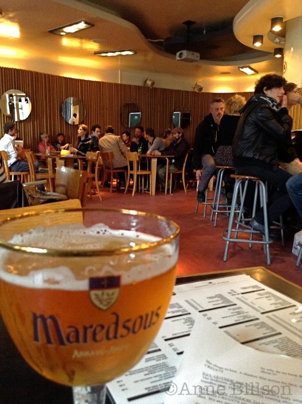 Maredsous op kraan 5.2%: Bar du Matin, Alsembergsesteenweg 172, Vorst 1190