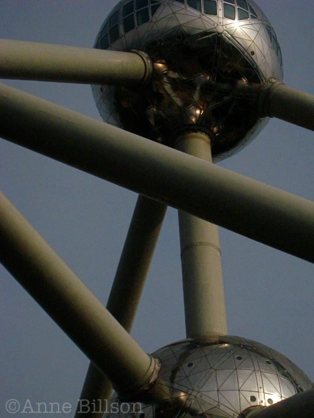 Atomium: Brussel.