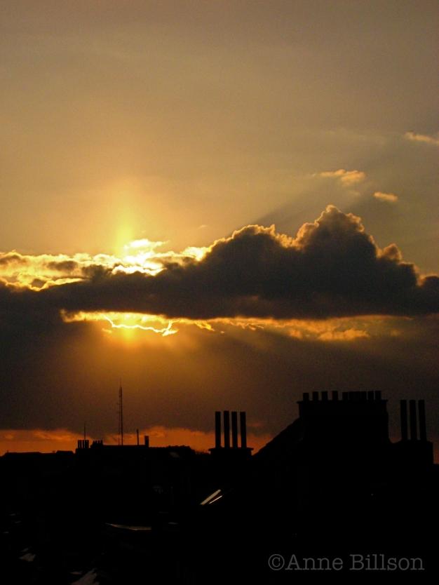 Hemelse wolk: Sint-Gillis.