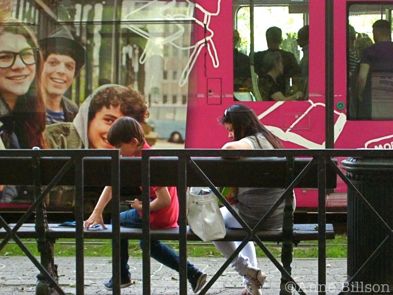 Tramlijn 94: Louizalaan, Elsene.