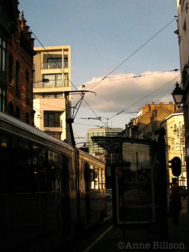 Tram-stop: Morisstraat, St-Gillis.