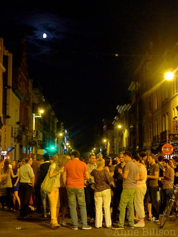 Hete nacht in Kastelein: Kasteleinplein, Elsene.