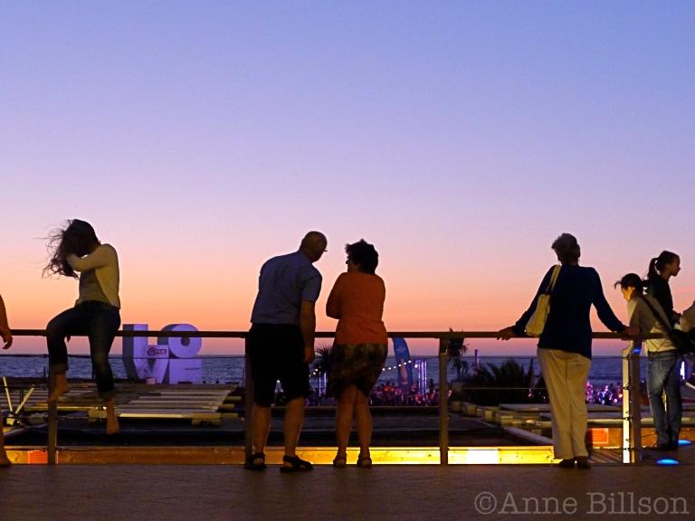 """LOVE"": Albert I Promenade, Oostende."