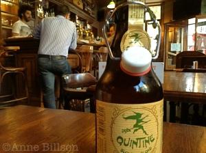 Quintine Blond, 8%: Le Bistro des Restos, Edelknaapstraat 39, Elsene.