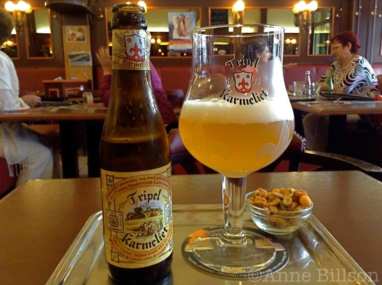 Tripel Karmeliet, 8.4%: Le Trappiste, Gulden Vlieslaan 3, Elsene.