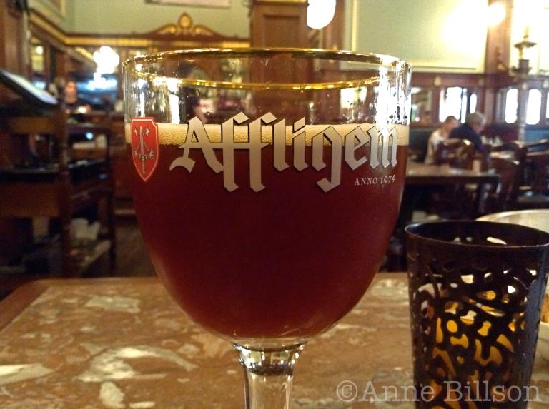 Affligem Brune, 6.8%: Taverne Greenwich, Kartuizerstraat 7, Brussel.