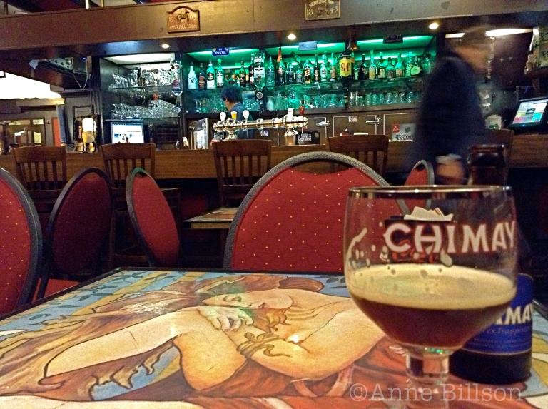 Chimay Bleue, 9%: L'Ecuyer, Schildknaapstraat 3, Brussel.