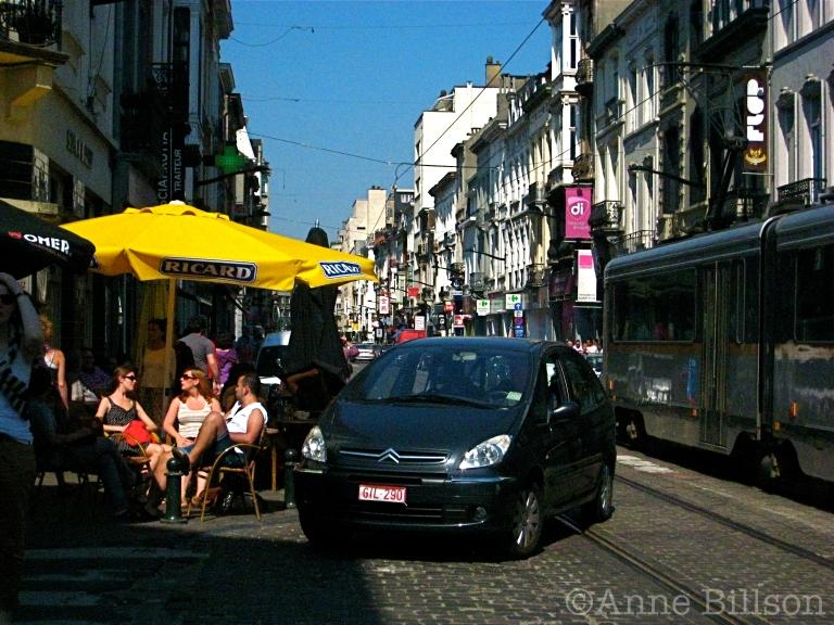 Een plek onder de zon: Baljuwstraat, Elsene.