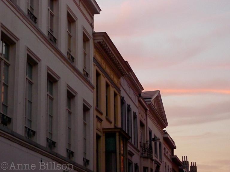 Roze streep: Gewijde-Boomstraat, Elsene.
