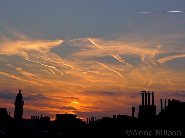 Plasma zonsondergang: Sint-Gillis.