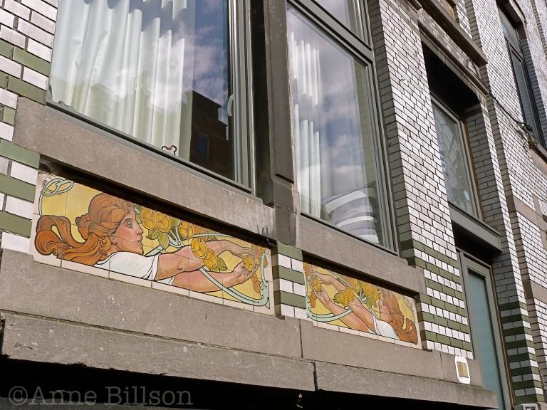 Gent fries: Willem Wenemaerstraat, Gent.