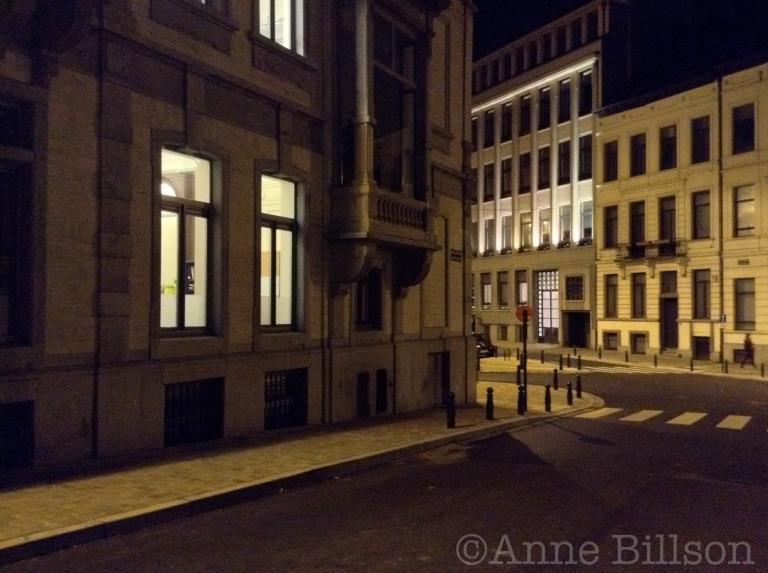 Kruispunt: Omwentelingsstraat, Brussel.