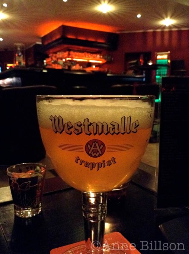 Westmalle Tripel, 9.5%: Red Monkey, Waterleidingsstraat 109, Elsene.