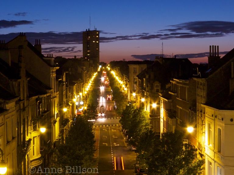 Albert na zonsondergang: Sint-Gillis.