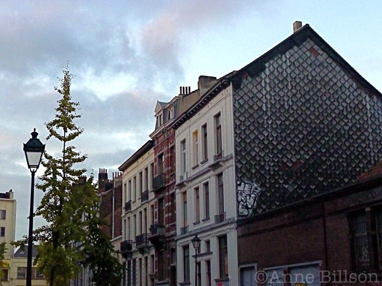 Schalen: Amerikaanse Straat, Sint-Gillis.