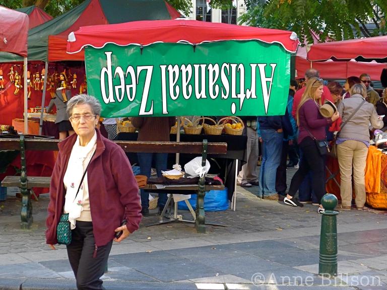 Artisanaal zeep: Grasmarkt, Brussel.