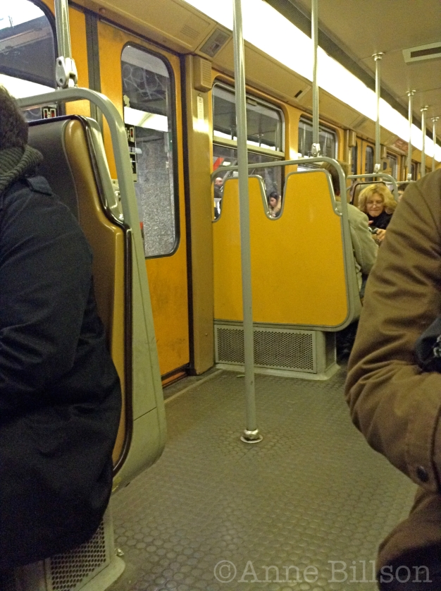 Metro lijn 5: Brussel.