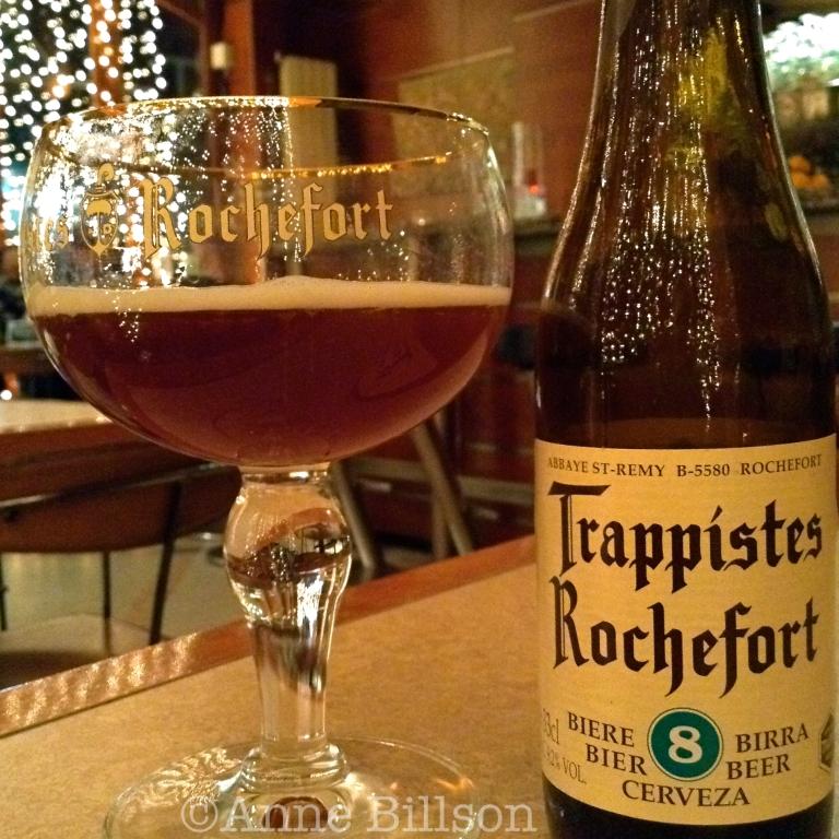 Rochefort met kerstverlichting: Le Bar, Amerikaanse Straat 88, Elsene.