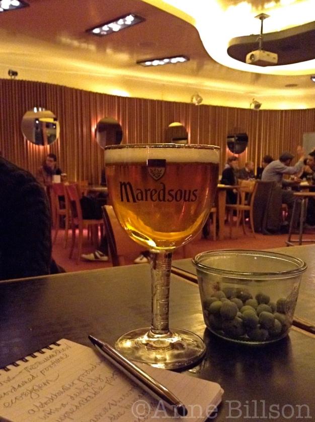 Script conferentie met Maredsous, 6%: Bar du Matin, Alsembergsesteenweg 172, Forest.