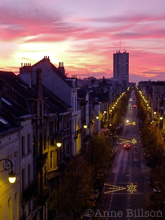 Vallende sterren: Ducpétiauxlaan, Sint-Gillis.