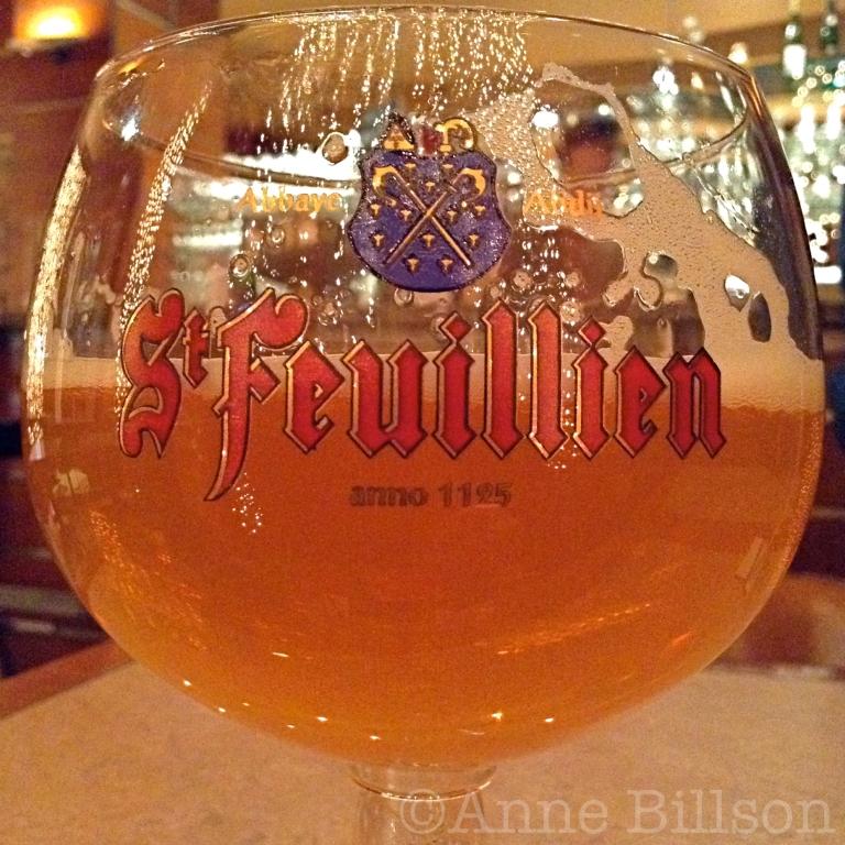 St Feuillien Blonde, 7.5%: Le  Bar, Amerikaanse Straat 88, Elsene.
