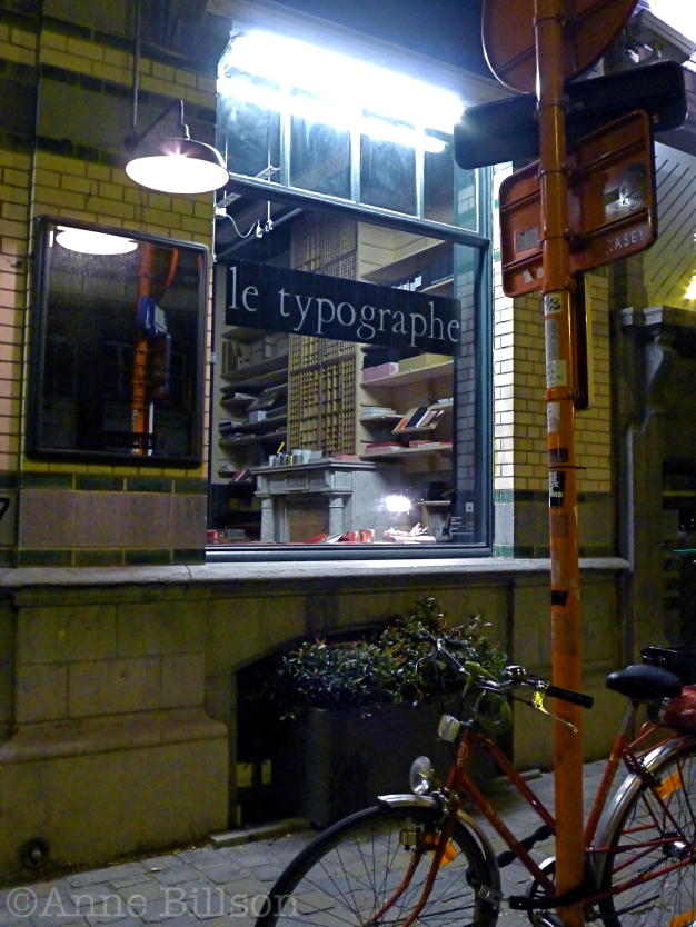 le typographe: Amerikaanse Straat 67, Elsene.