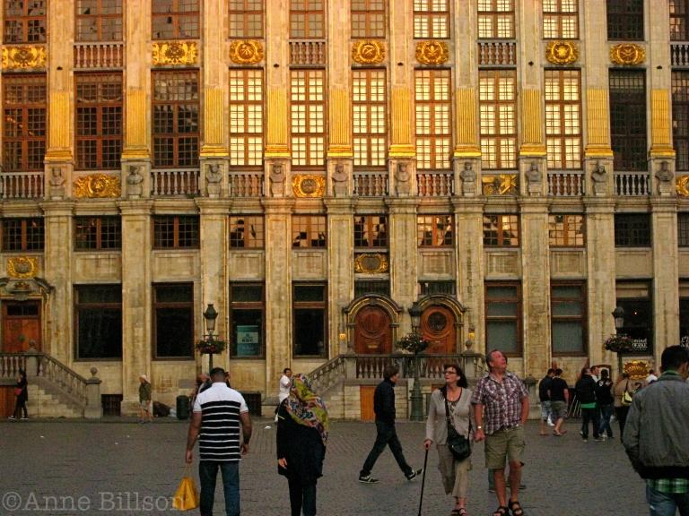 Gouden Grote Markt: Grote Markt, Brussel.