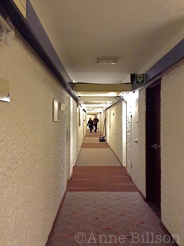 Hotelgang: Hotel Ibis Brussels Centre St-Catherine, Joseph Plateaustraat 2, Brussel.