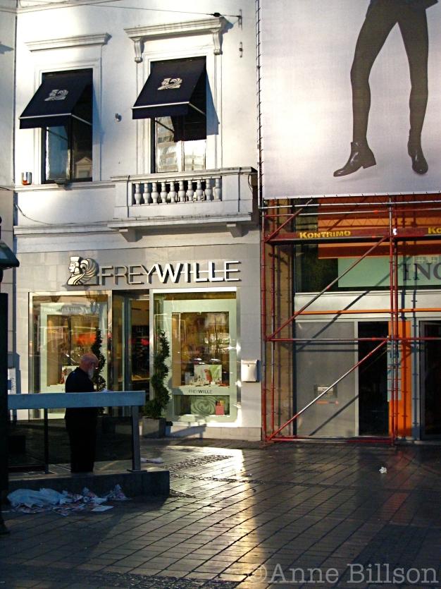 Freywille: Louizaplein, Sint-Gillis.