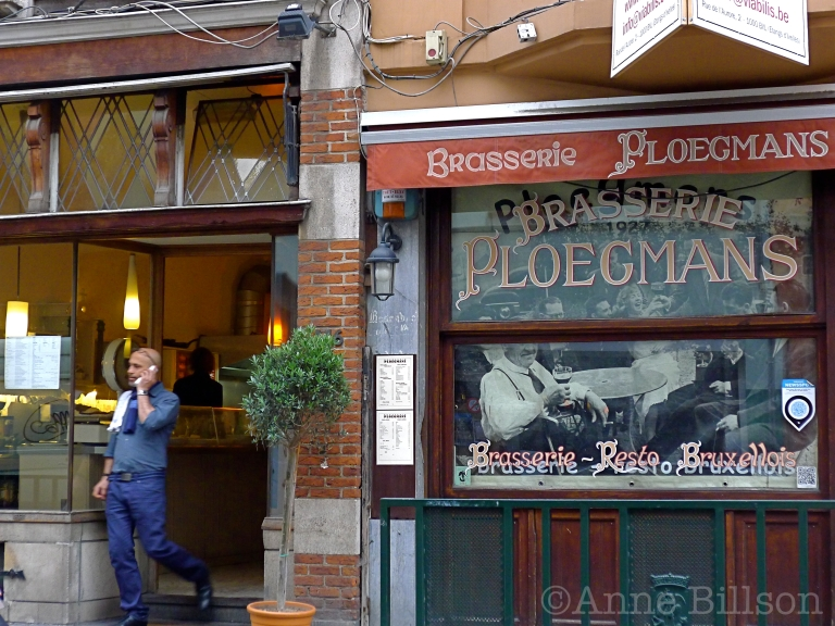 Brasserie Ploegmans: Hoogstraat, Brussel.