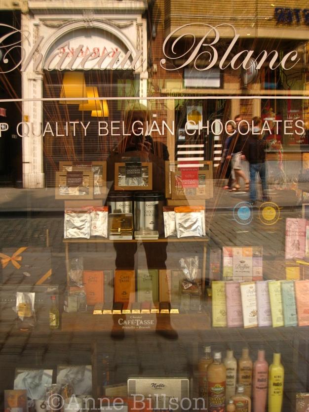 Quality Belgian chocolates: Antwerpen.
