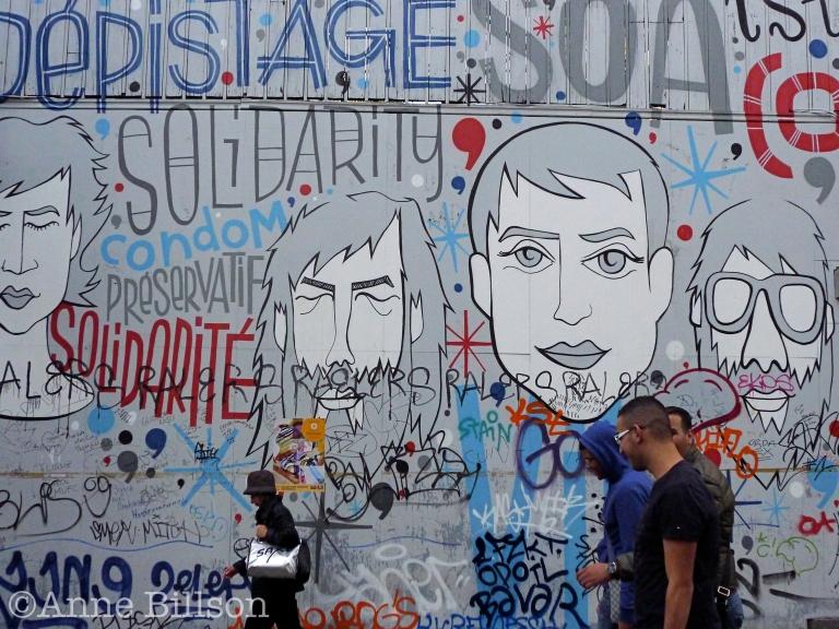 Solidarité: Grasmarkt, Brussel.