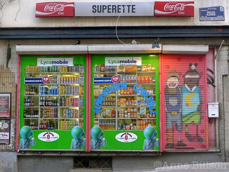 Superette: Elsene