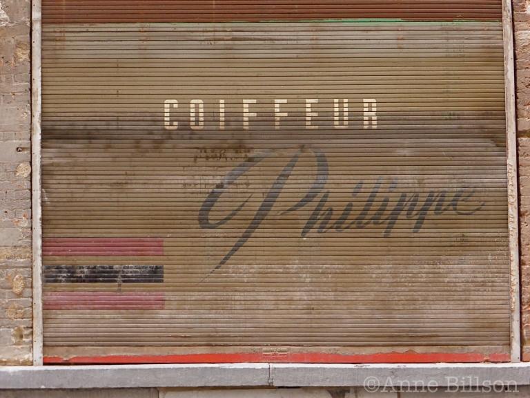 Coiffeur Philippe: Spoormakersstraat, Brussel.
