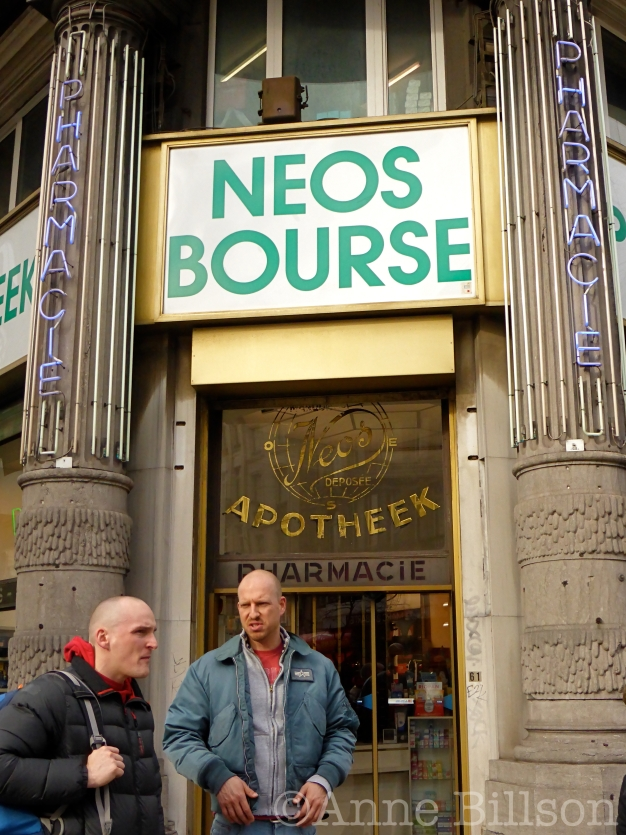 Neos Bourse: Anspachlaan, Brussel.