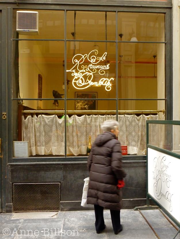 Ogenblik: Café Restaurant de l'ogenblik, Prinsengalerij 1, Brussel.