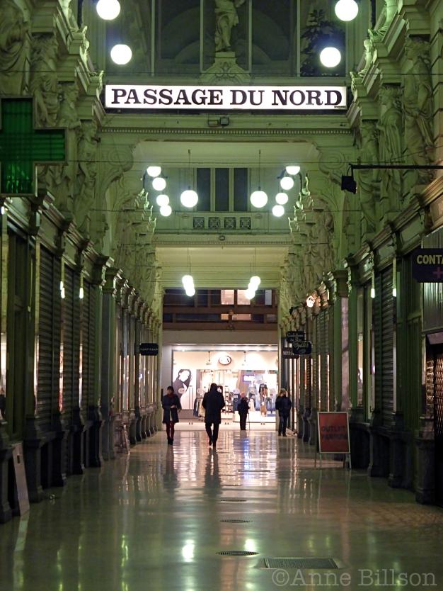 Passage du Nord: Nieuwstraat 40, Brussel.