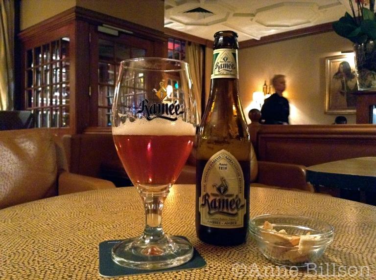 Ramée tripel amber, 7.5%: Copenhagen Tavern, Waterloolaan 6A, Brussel.