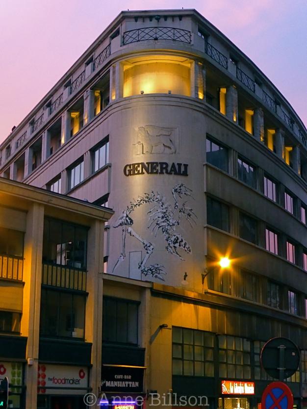 Generali met Bonom: Ravensteinstraat, Brussel.