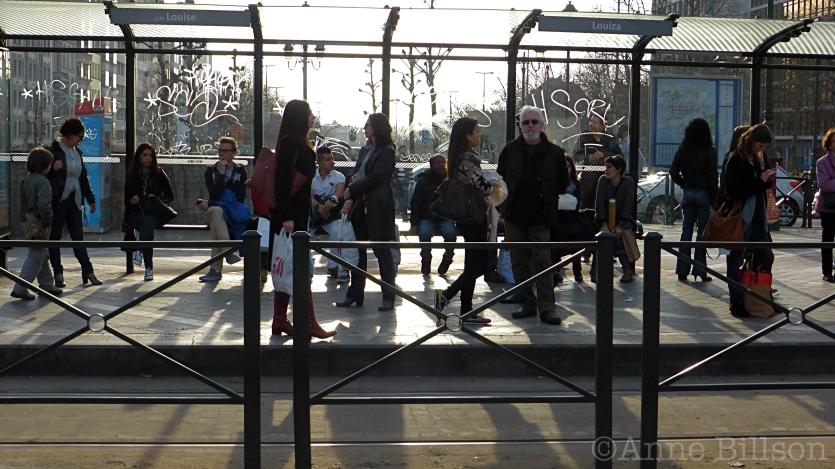 Louiza tramhalte: Louizaplein, Sint-Gillis.