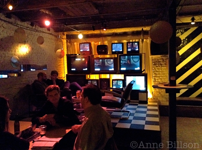 Stouterik, 4.5%: de bar van Cinema Nova, Arenbergstraat 3, Brussel.