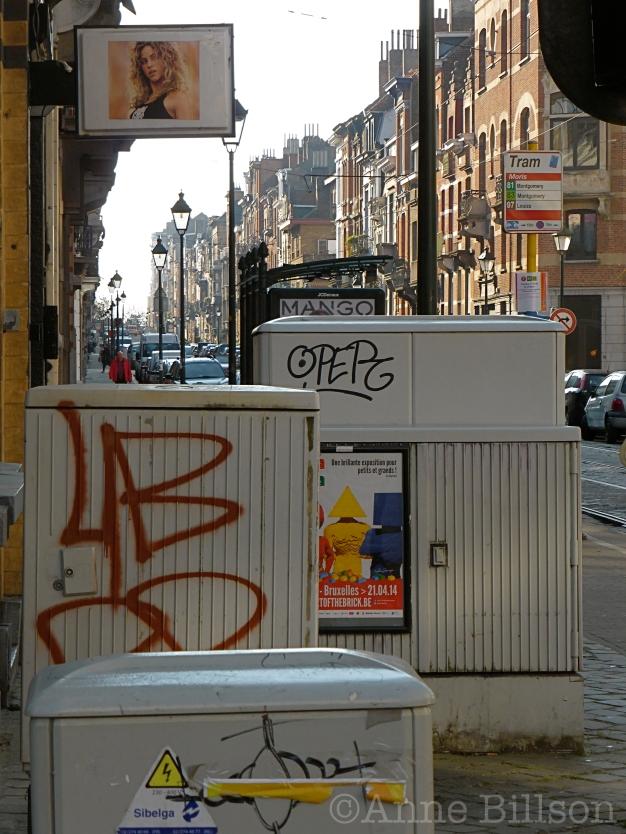 Straatmeubilair: Antoinebréartstraat, Sint-Gillis.
