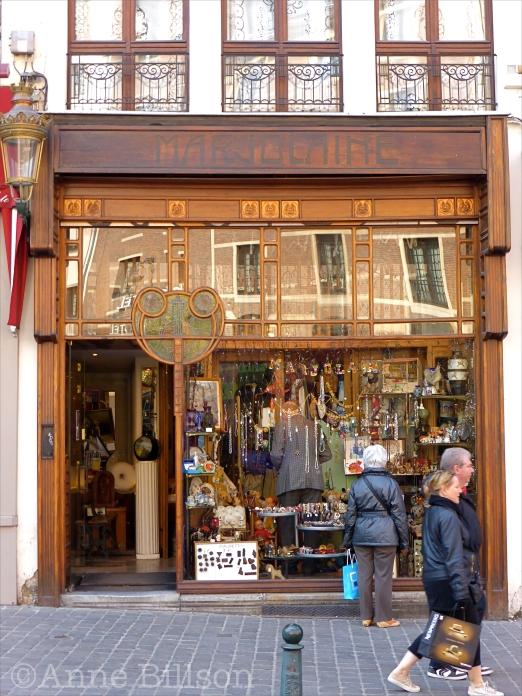 Marjolaine: Magdalenasteenweg, Brussel.