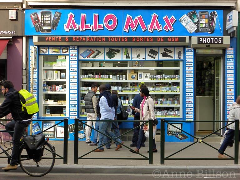 Allo Max: Elsensesteenweg, Elsene.