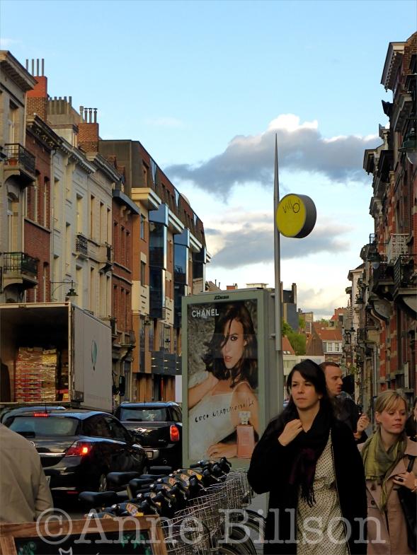 Coco mademoiselle: Waterleidingsstraat, Elsene.