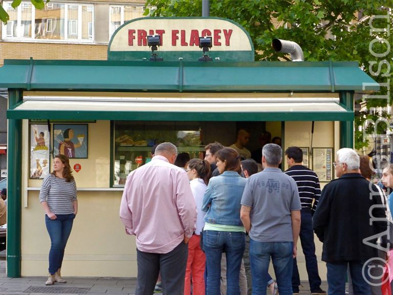 Frit Flagey: Eugène Flageyplein, Elsene.