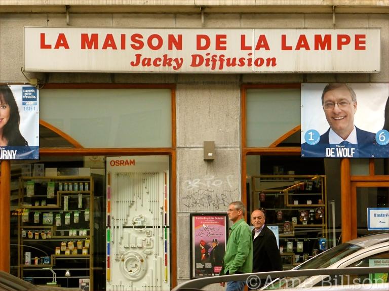 Jacky Diffusion: Elsensesteenweg, Elsene.
