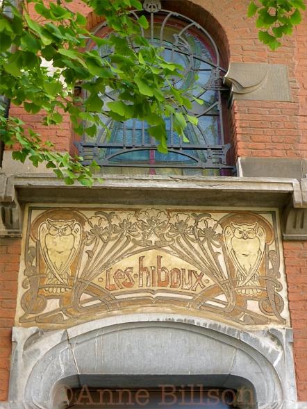 Les hiboux, Brugmannlaan 55, Sint-Gillis.