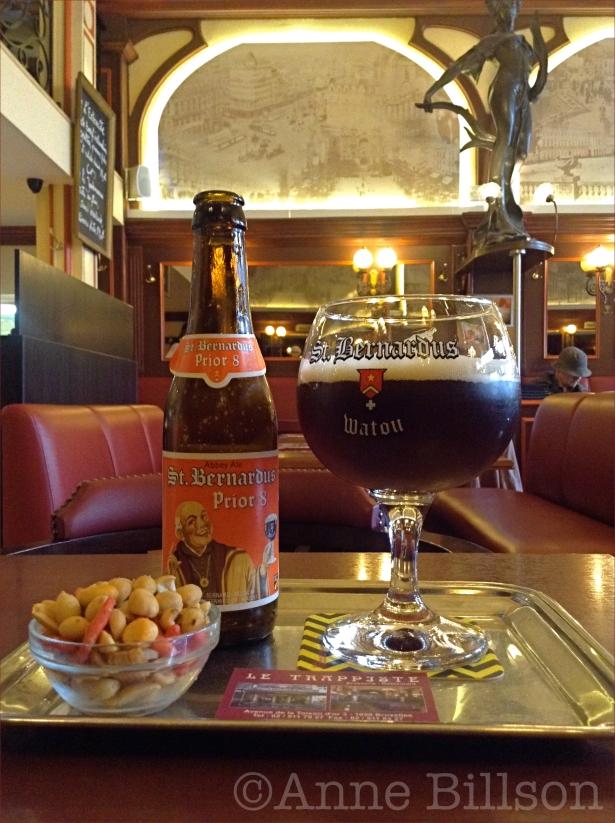 St Bernardus Prior 8, 8%: Le Trappiste, Gouden Vlieslaan 3, Elsene.