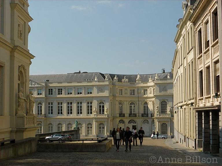 Museumstraat: Brussel.